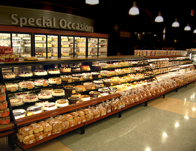 BCX-BY | Expanded Bakery Service Merchandiser