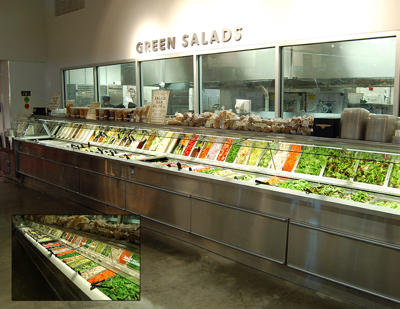 SSB-SS | Single-Sided Salad Bar