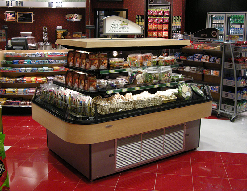 RIM-N | Narrow Refrigerated Island Merchandiser