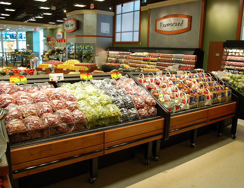FLX | Refrigerated Produce Table