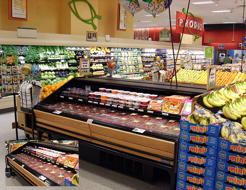 FLX-PX | Two Level Refrigerated Produce Table