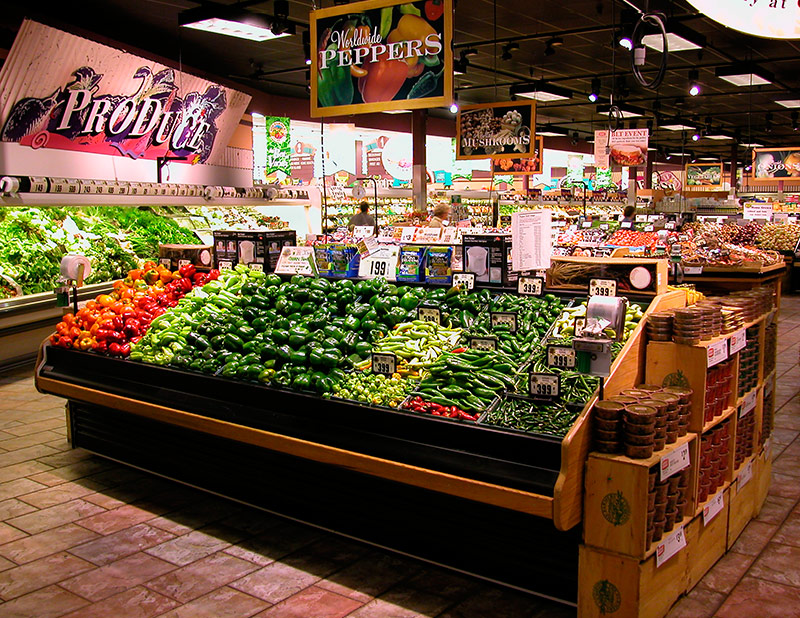 LMRM | Refrigerated Produce Merchandiser