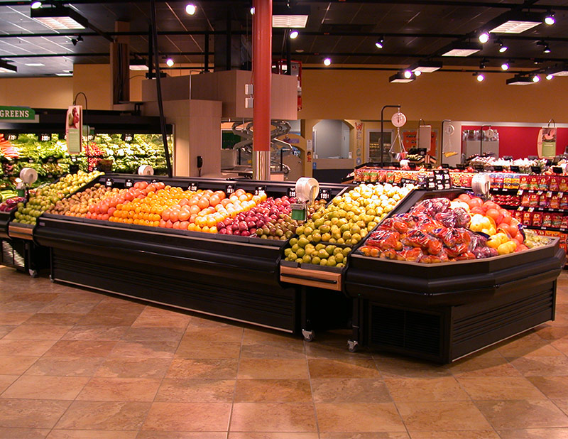 LMRM-EC | Low Profile Mobile Produce Endcap