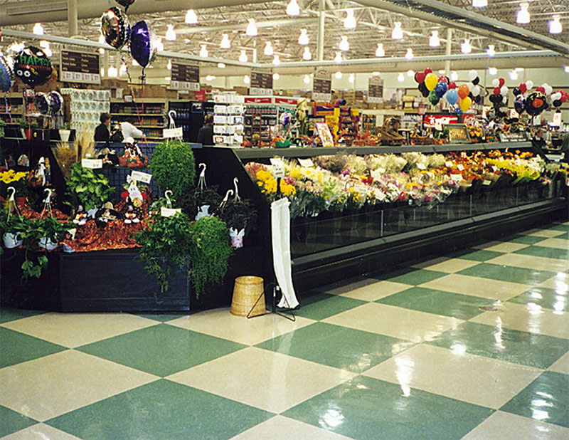 FL-LP | Low Profile Floral Merchandiser