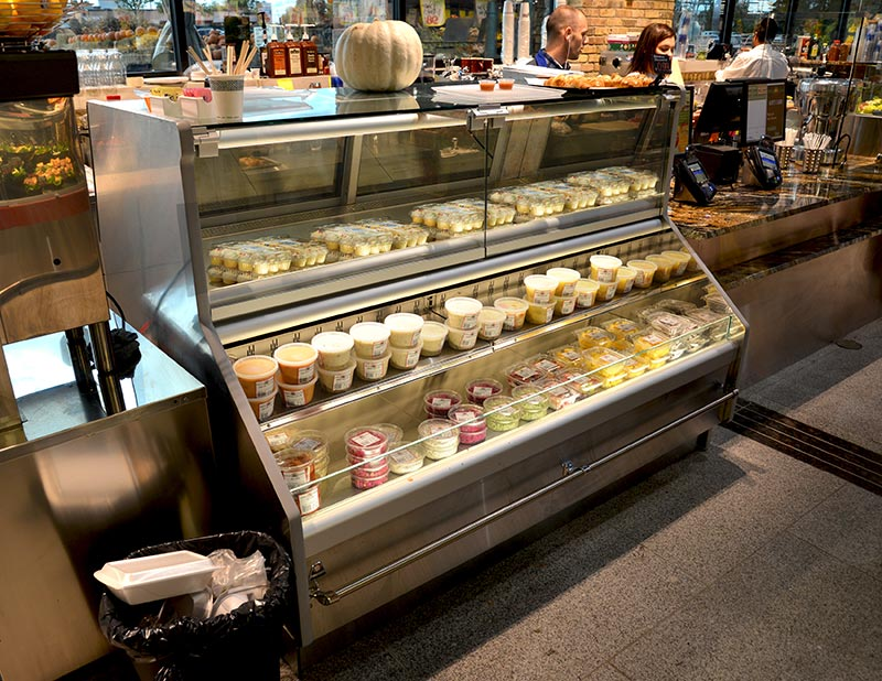 CVT-DBAV | Bavarian Series Vertical Glass Service/Self-Service Combination Merchandiser
