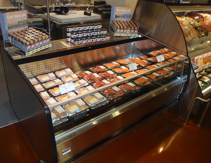 ODC-LT | Open Display Case for Low Temperature Applications
